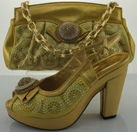 Wholesale italy design shoes with matching bags shoes and bags SB370