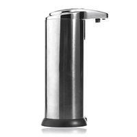 auto foam dispenser - 280ml Auto Touchless Handsfree Stainless Sensor Soap Dispenser Kitchen Bathroom order lt no track