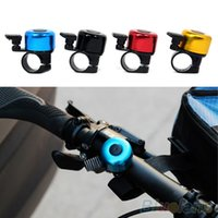 Wholesale 2014 New Safety Metal Ring Handlebar Bell Loud Sound for Bike Cycling bicycle bell horn K2E