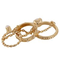 Cheap engraved ring sets Best soft gold plated rings