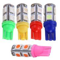 Wholesale 2PCS V W T10 SMD Colors LED Car Width Lamp License Plate Light Reading Lamp K K