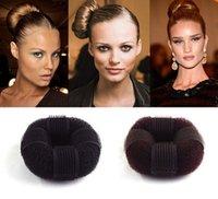 Wholesale Donut Head Sponge Self stick Hair Maker Head Bud Hair Styling Tools Accessories