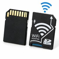 Wholesale WiFi SD Adapter Micro SDHC TF Flash Card To SD Card Wireless Adapter For Apple IOS Android WiFi Newest