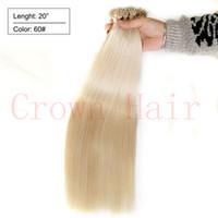 auburn hair extensions - nano ring human hair extensions Remy Micro Nano Rings Hair Micro Bead Nano Ring Hair Platinum Blonde g s