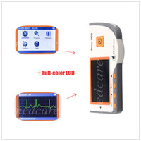 Wholesale Hot selling New Full color LCD Screen Heal force Prince B Handheld ECG Portable Monitor with USB
