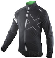 Wholesale 2XU hot sale Men s Long Cycling wear bike clothing Bicycle jersey Autumn long jersey with fleece long pant with pad