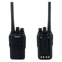 Wholesale New Black Walkie Talkie TYT Tyera TC B W CH UHF MHz Scan VOX Emergency Alarm Two Way Radio A7146A