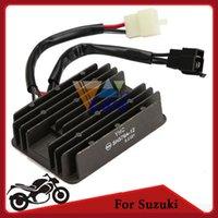 Wholesale 12v Motorcycle Rectifiers Black Metal Voltage Regulator for Suzuki TL1000R TL1000S order lt no track