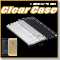 clear iphone case - Iphone s Case Crystal Gel Case for iPhone s Plus Ultra Thin transparent Flexible Soft TPU Cases For Samsung S6 Note Clear Cases