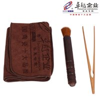 bamboo tea towels - David Carse the tea ceremony accessories strong absorbent tea towel ebony pen raised bamboo tea pot tea coasters clip with zero