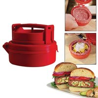 assistant producer - New Red Stufz Stuffed Burger Press Pizza Patty Maker Kitchen Assistant For Hamburger Presses Meat Poultry Tools Filling Producer
