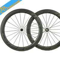 Wholesale FFWD T700 Road Bike Wheelsets Carbon Fiber Tubeluar Cycling Wheelsets for Men K UD Weave Glossy or Matte Finish Sale FFWD