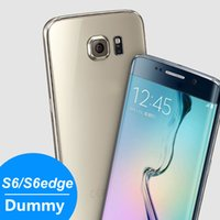 Wholesale 2015 New Arrival Non Working Size Display Dummy phone fake Toy Phone Model For S6 Edge color black white Gold