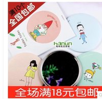 beauty gift ideas - Sweet small round mirror portable beauty cosmetic mirror lovely birthday gift ideas