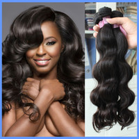 100 natural human hair - Cheap Hair bundles Brazilian Virgin Hair Human Hair Weave Wavy Body Wave Natural Color Hair Extensions