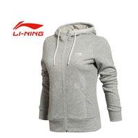 Wholesale Original LINING women s jacket AWDK322 Hoodie Sportswear