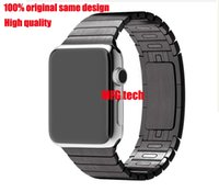 apple tool box - 1 Original Link Bracelet For Apple Watch L stainless steel Without tool disassembly Link Watchband for iWatch mm mm with retail box