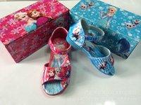 beautiful shoes - Hot Sale Girls Sandals Baby Girls Cartoon Sandals Girl Princess Sandals Kids Beautiful Fashion Shoes Children Blue Sandal Y25301