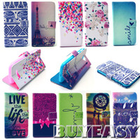 alcatel phone covers - 10 Style for Alcatel One Touch pop C7 D D case Cover Fashion wallet Leather cell phone bags with card holder M5a11Y