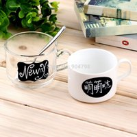 Wholesale 36pcs Chalkboard Blackboard Chalk Board Stickers Craft Kitchen Jar Labels x3