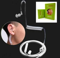 anti radiation iphone - 3 mm Anti Radiation Earphone Spring Air Duct In Ear Headphone For Samsung galaxy S5 S6 note iphone S with Mic