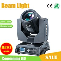 Wholesale Moving Heads Stage Lighting DMX Sharpy R W or R W AC110 V Beam Light For Disco Bar Club Concert