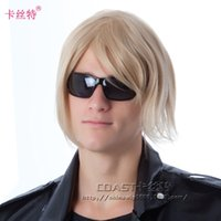 hair wigs for men - Celebrity wig for men hair wig shadows and Euramerican Style Wig