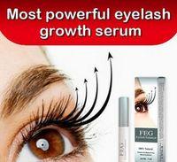Wholesale New Arrival FEG EYELASH ENHANCER Eyes Eye Lash Rapid Growth Serum Natural Day Supply Eyelash Growth Treatments Makeup Free Ship