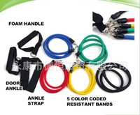 Wholesale Brand New Pieces Resistance Bands Set p90x