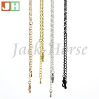 Wholesale high quality most popular silver gold rose gold black stainless steel necklace floating locket chains