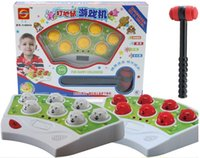 Wholesale Music lights voice toy playing hamster game machine upgrade children s educational toys