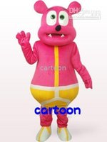Wholesale Hot sale fashion Gummy Bear suit mascot costume cartoon costumes party outfits carnival costume