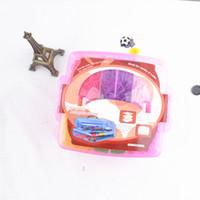 Cheap 18 colors loom bands Rubber Bands Kit For Kids DIY Charm Bracelet Looms Band 3 layers PVC BOX Family Loom Kit 5400 pcs
