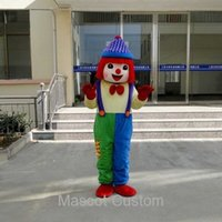 gymboree clothing - Factory Price Promotion New Shopping Clown Walking Cartoon Doll Clothing Cartoon Costumes Performing Props Gymboree Mascot Costume N41149