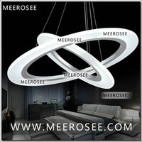 Wholesale New Arrival Modern LED Chandelier Light Lamp Lighting Fixture LED Circle Ring Chandelier Lusters SMD5050 LED MD5057