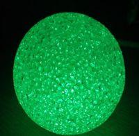 Wholesale christmas toy LED BALL decoration luminous christmas crystal