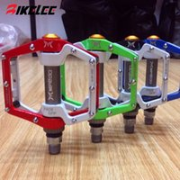bmx bike - 2015 hot new mountain bike pedals BMX Parts Dead Fly Ultralight Aluminum Pedal Bearing Pedals Skid Bicycle pedales bicicleta
