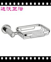 Wholesale Wenzhou Davao new stainless steel soap holder soap dish bathroom hardware manufacturers pylons basket
