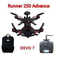 advanced fiber systems - F16183 Walkera Runner Advance GPS System Racer RC Drone Quadcopter RTF with DEVO Transmitter OSD Camera GPS Goggle