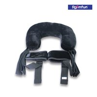 adult bicycle - Roomfun Black Ankles Cuffs With Furry Pillow Elastic Straps Bicycling Postion Adult BDSM Sex Fetish Toy Sex Game Sex Product