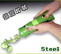 Wholesale New Vegetable Fruit Twister Cutter Slicer Processing Kitchen Utensil Tool ZH047A1A