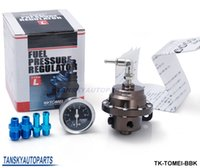 Wholesale TANSKY Tomei Fuel Pressure Regulator with original Black gauge adjustable FPR Type L TK TOMEI BBK Have In Stock