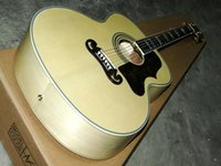 Wholesale New Arrival Inches Jumbo Acoustic Guitar Model Natural Color Classic Guitar From China