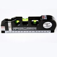 Wholesale New Multipurpose Laser Level Horizon Vertical Measure Tape Aligner FT LV03 B