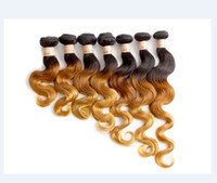 Body Wave remy hair - DHL Express Shipping g b33 Brazilian Body wave Virgin Brazilian Hair Remy Human Hair Extensions Unprocessed Hair Wefts HY6047A
