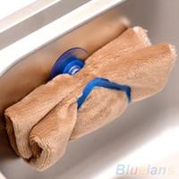 Wholesale Kitchen Tools Gadget Decor Convenient Sponge Holder Suction Cup Sink VA9