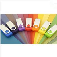 logo usb flash drive - 30 Metal Plastic real capacity GB GB GB GB GB Swivel custom USB Flash Drive Pen Disk Customized LOGO memory stick