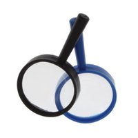 Wholesale high quality black Reading X Magnifier Hand Held Magnifying acrylic mm Hot New Arrival