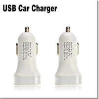 Wholesale 2016 hot Scud A phone car charger cigarette lighter dual USB converter plug car charger