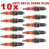 Wholesale Brand NEW Spark Plug D8TC D8TJC Electrode CG cc CF250 Moped Scooter ATV Quads
